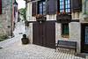Cancon street scene, Lot-et-Garonne, Aquitaine, southwest France