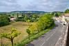 View from Saint-Pastour, small bastide town, Lot-et-Garonne, Aquitaine, southwest France