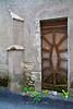 Ancient door, Cancon, Lot-et-Garonne, Aquitaine, southwest France