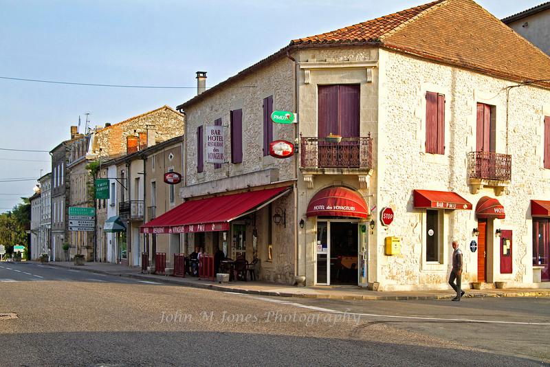 Downtown, Cancon, Lot-et-Garonne, Aquitaine, southwest France
