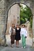 Trois jolies femmes, Saint-Pastour, Lot-et-Garonne, Aquitaine, southwest France