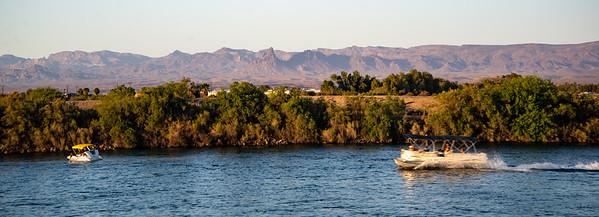 The Colorado River near Needles, CA.