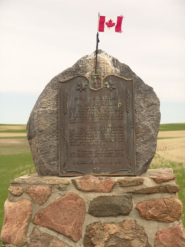 Another highway historical marker on highway 30 south to Lancer.