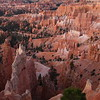 Bryce Amphitheater at first light.