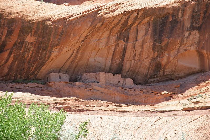 Junction Ruins, Canyon de Chelly.