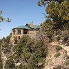 Grand Canyon Lodge from Bright Angel Trail, North Rim.