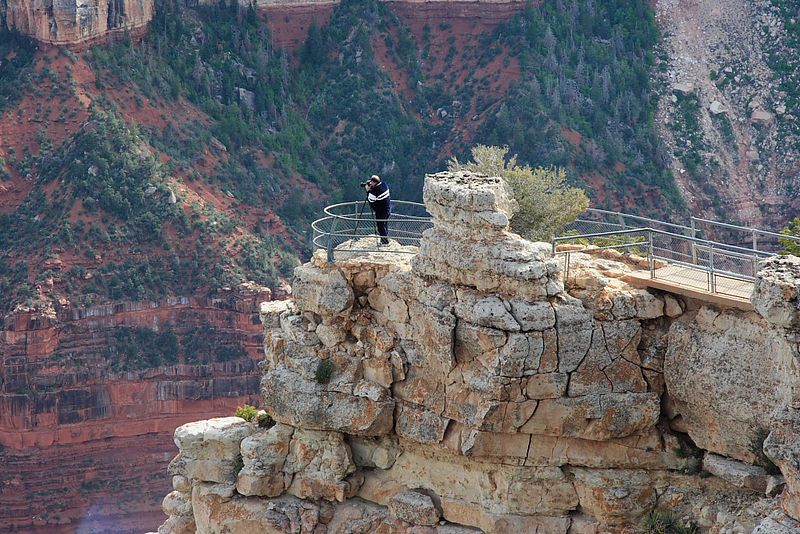 That's NOT me. North Rim, Grand Canyon.
