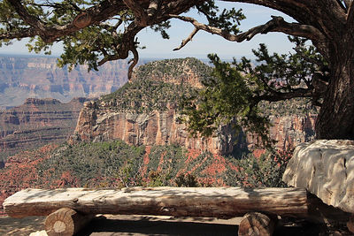 Grand Canyon North Rim view.