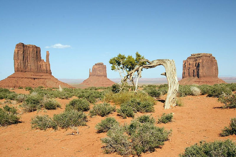 "The ""Mittens and Merrick Butte, Monument Valley"