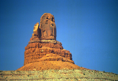 Owl Rock near Monument Valley