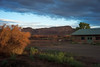 View from Kokopelli Inn in Bluff, UT at sunrise.