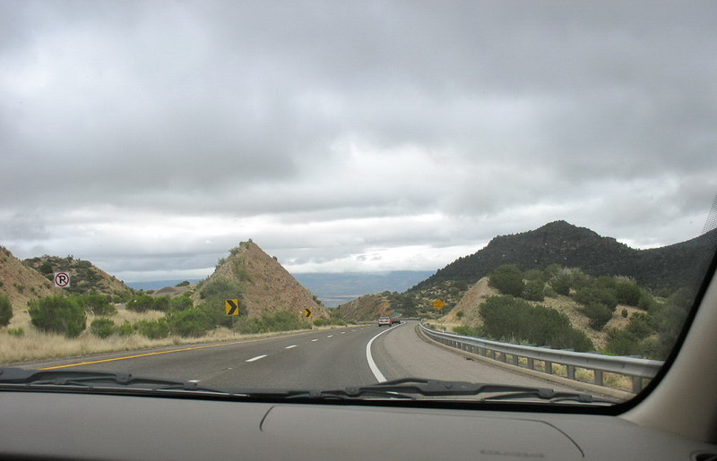 May 23, 2008 - the rugged terrain along the I17 north of Phoenix.
