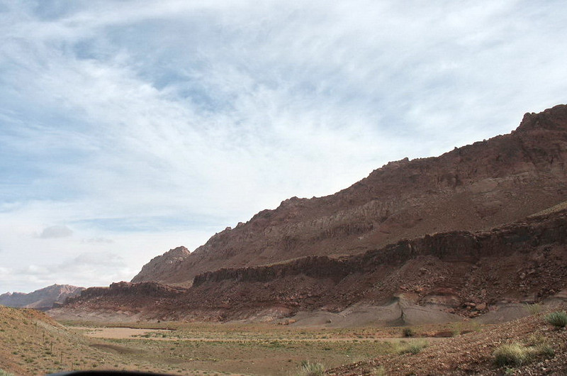 All along US 89 were rocky ridges.Quite spectacular country.
