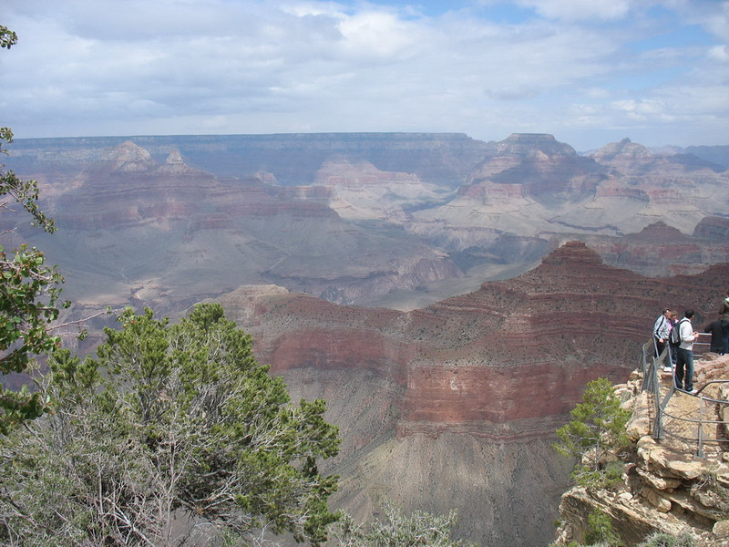 Our final view of the Grand Canyon. We left the park in the middle of the afternoon and stopped just outside the park to watch an IMAX movie about the Grand Canyon before heading back to Flagstaff.
