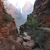 Utah - Zion National Park, hiking to Angel's Landing
