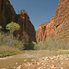 Utah - Zion National Park, entrance to Zion Canyon