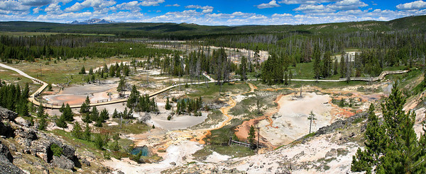 Gibson Geyser Basin, Yellowstone National Park
