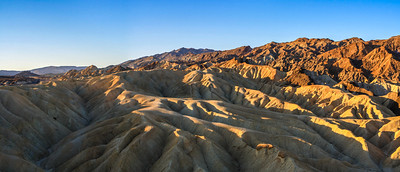 Zabriskie Point sunrise, Death Valley National Park