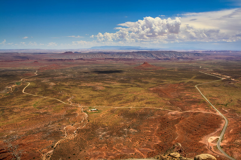 Valley of the Gods from Moki Dugway