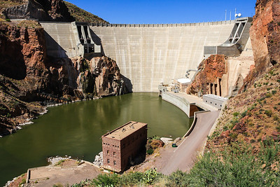 Theodore Roosevelt Dam @ Tonto National Forest -