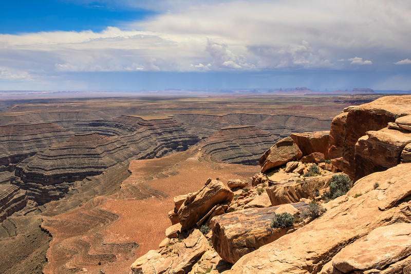 Muley Point with view of Goosenecks & Monument Valley