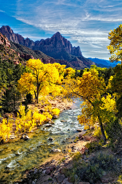 Fall Afternoon at The Watchman 1