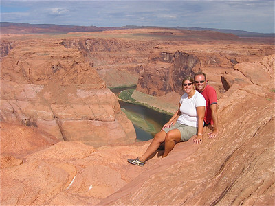 Just the two of us. Colorado River at Horseshoe Band, Arizona, USA.