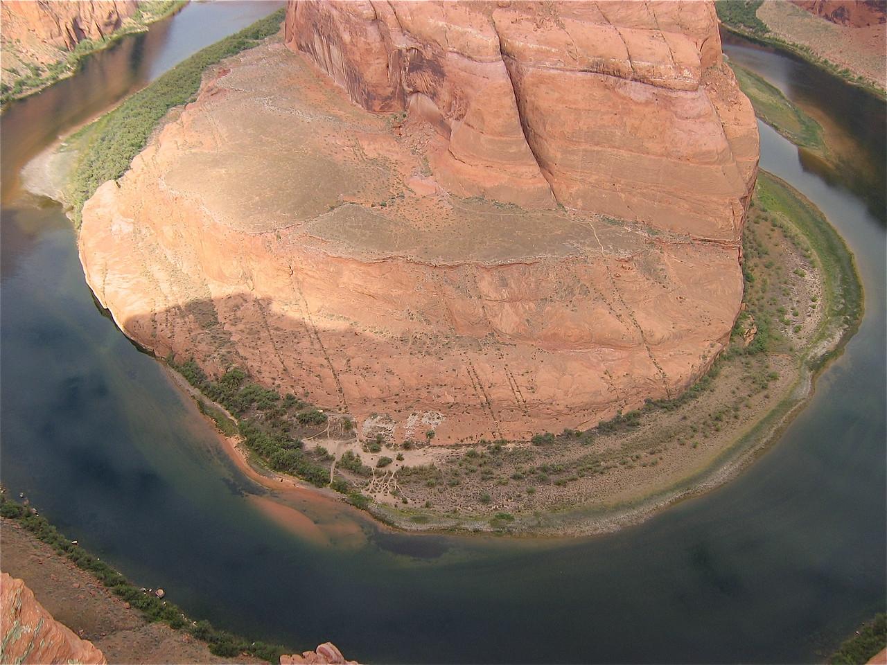 Colorado River at Horseshoe Band, Arizona, Southwest USA.