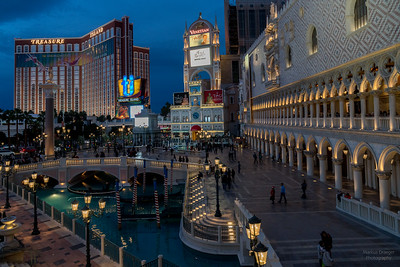 Treasure Island and Venetian, Las Vegas