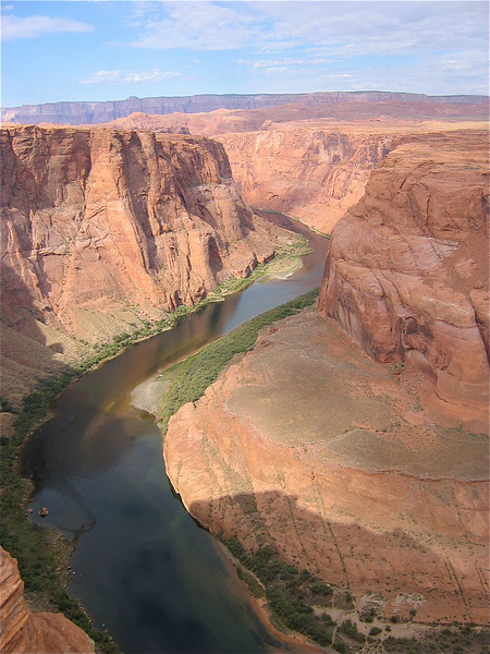 Colorado River at Horseshoe Band, Arizona, USA.