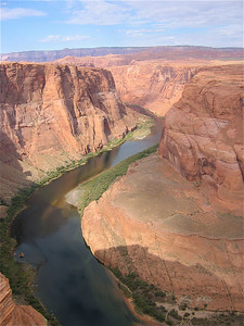 Colorado River at Horseshoe Band, Arizona, USA.