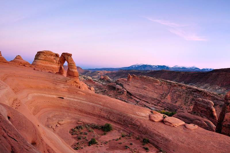 Delicate Arch and Bowl