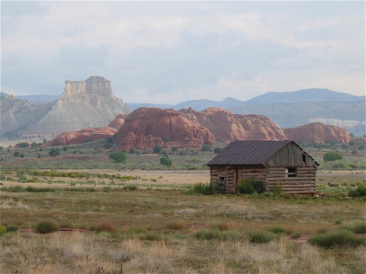 Wonen in Utah. Kodachrome Basin, Utah, USA.