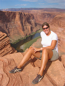 Geweldig plekje. Colorado River at Horseshoe Band, Arizona, USA.