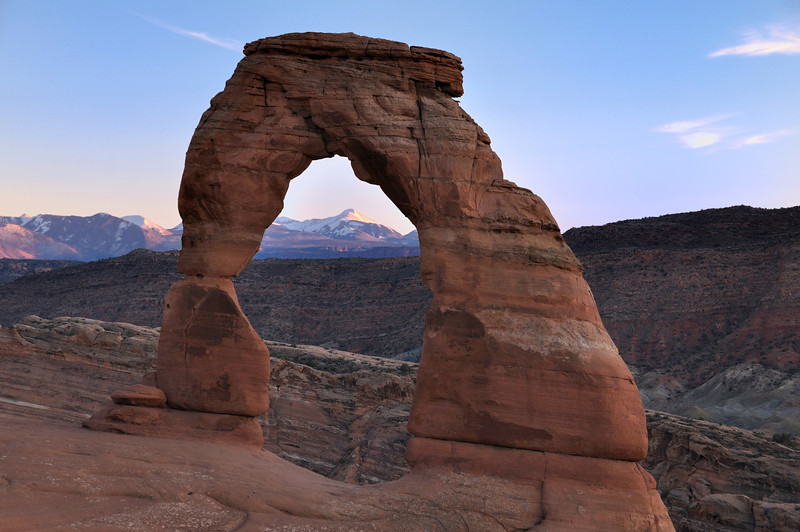 Late Day Light at Delicate Arch 3