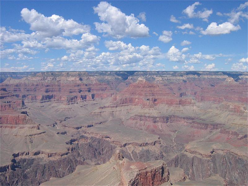 Grand Canyon & Clouds, Arizona, USA.