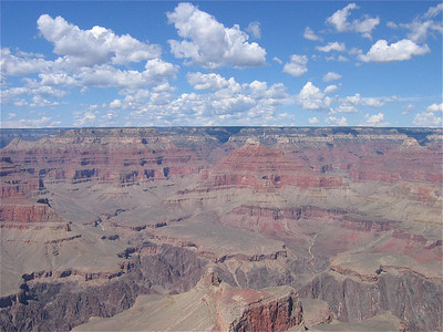 Grand Canyon & Clouds, Arizona, USA.