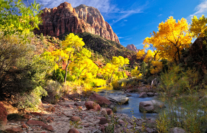 Fall Breeze at The Watchman