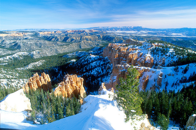 Rainbow Point, Bryce Canyon National Park.