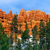 Hoodoos outside of Bryce Canyon National Park, Utah.