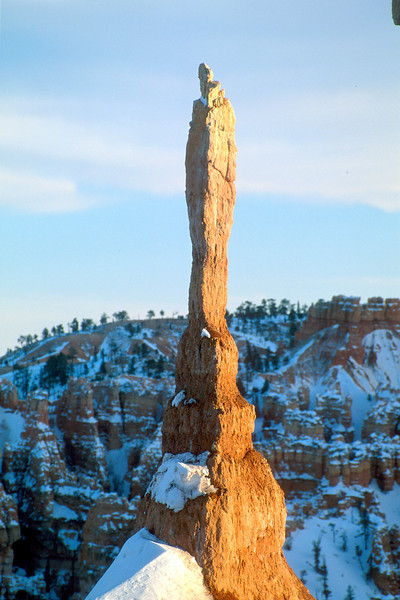 Lone spire, Bryce Canyon National Park.