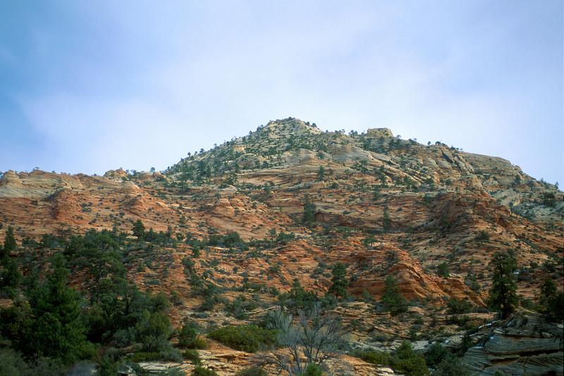 Colored rock, Zion National Park.