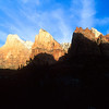 Court of the Patriarchs, Zion National Park.