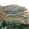 Zig zag rock, Zion National Park.
