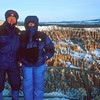 Sunrise at Bryce Point, Bryce Canyon National Park. It was windy and cold!!
