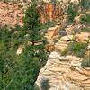 Rock outcrop, Zion National Park.