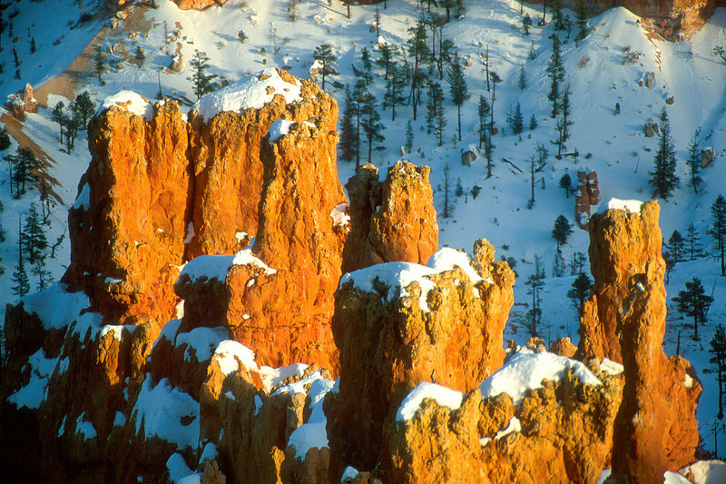 Sunset, Bryce Canyon National Park.