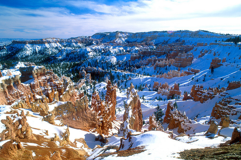 Bryce Amphitheater, Bryce Canyon National Park.