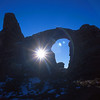 Turret Arch, Arches National Park.
