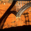 Bridge at Glen Canyon Dam, Glen Canyon National Recreation Area.